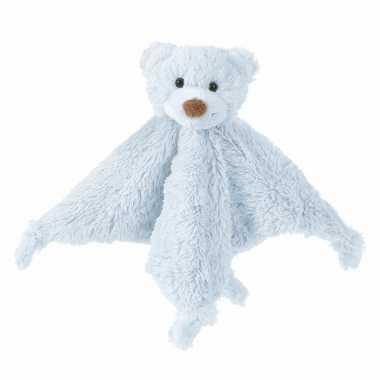 Blauwe beren tuttels happy horse knuffeldoekje