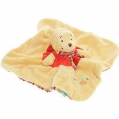 Disney speelgoed artikelen beren tuttel/knuffeldoekje knuffeldoekjebe