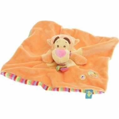 Disney speelgoed artikelen tijgers tuttel/knuffeldoekje knuffeldoekje