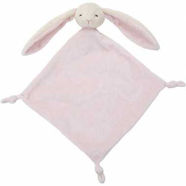 Konijnen speelgoed artikelen konijn tuttel/knuffeldoekje knuffeldoekj