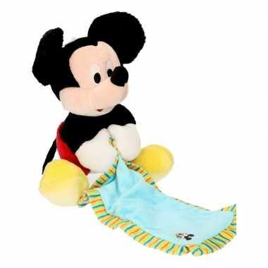 Mickey mouse knuffeldoekje
