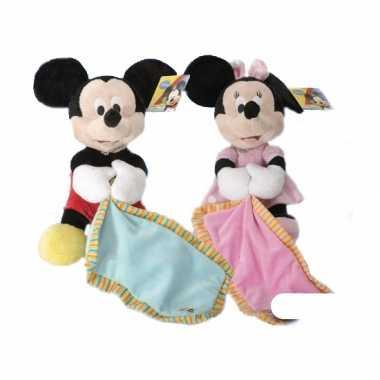 Minnie Mouse knuffeldoekje