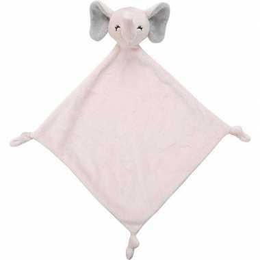 Olifanten speelgoed artikelen olifant tuttel/knuffeldoekje knuffeldoe