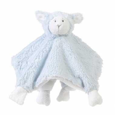 Pluche knuffeldoekje lammetje baby doekje