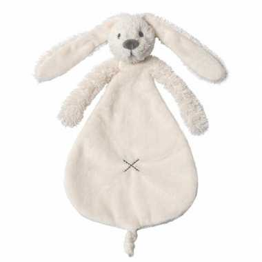Pluche konijnen knuffeldoekje richie